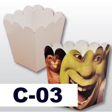 Caramelera de cartón sublimable Image