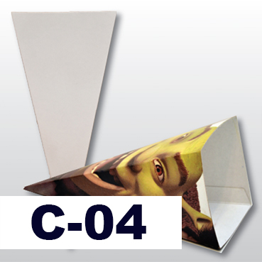 Cono de cartón sublimable Image